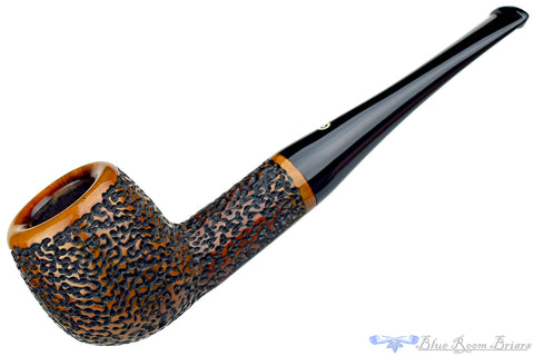 Thayne 110 Partially Sandblasted Strawberry Estate Pipe