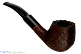Blue Room Briars is proud to present this Scandia 721 Ring Blast 1/2 Bent Panel Billiard Estate Pipe
