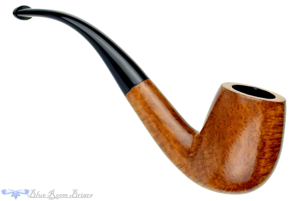 Blue Room Briars is proud to present this French Smooth 1/4 Bent Billiard Estate Pipe