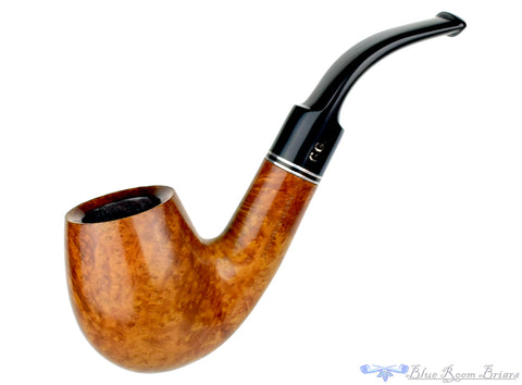 Alpha Classic Sandblast Pointed Dublin Estate Pipe
