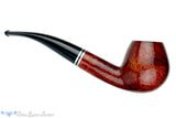 Blue Room Briars is proud to present this Golden Gate 304 1/8 Bent Brandy (9mm Filter) Estate Pipe