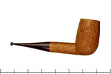 Blue Room Briars is proud to present this Thomas James Pipe Extra Large Tan Blast Billiard with Cumberland