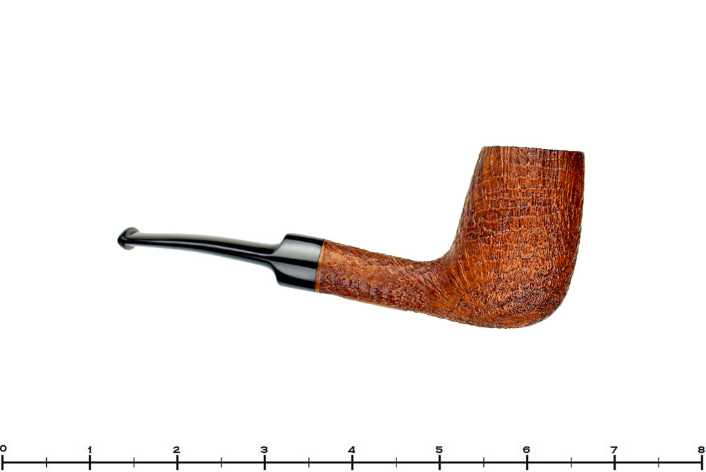Blue Room Briars is proud to present this RC Sands Pipe 1/8 Bent Ring Blast Billiard