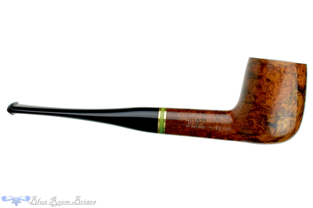 Blue Room Briars is proud to present this Peterson Emerald 15 Billiard with Fishtail Estate Pipe