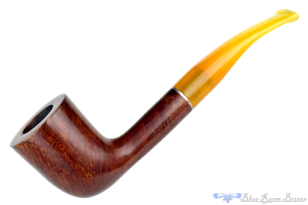 Blue Room Briars is proud to present this Forseti Natural Zulu with Acrylic Stem Estate Pipe