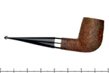 Blue Room Briars is proud to present this Joe Hinkle Pipe Magnum Sandblast Billiard with Silver Band
