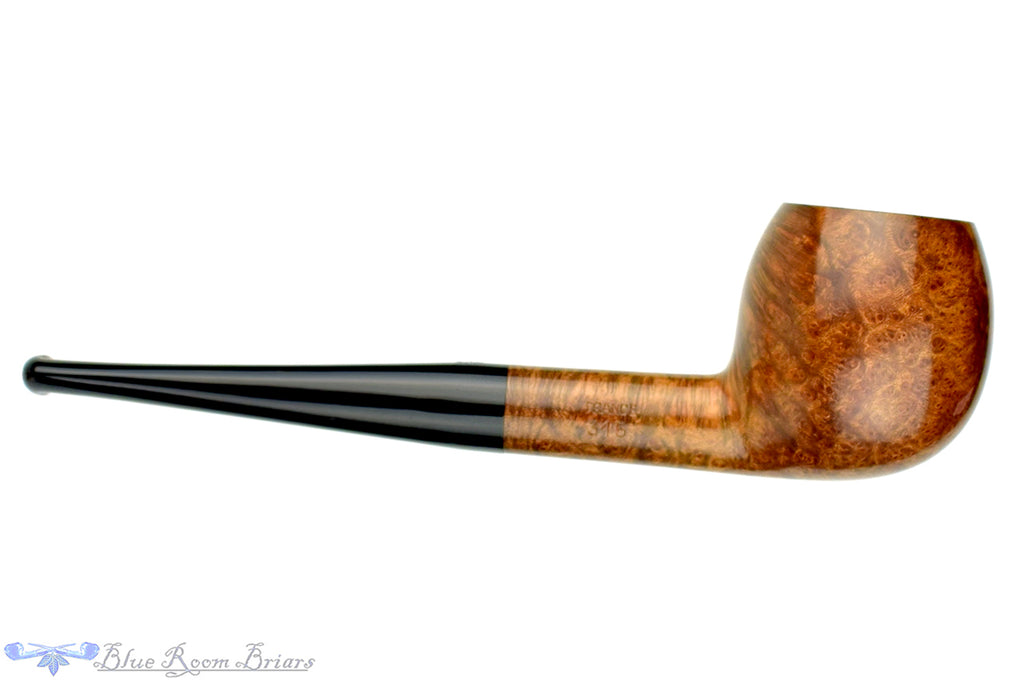 Blue Room Briars is proud to present this Fleur de Lis Meerschaum Lined 315 Apple UNSMOKED Estate Pipe