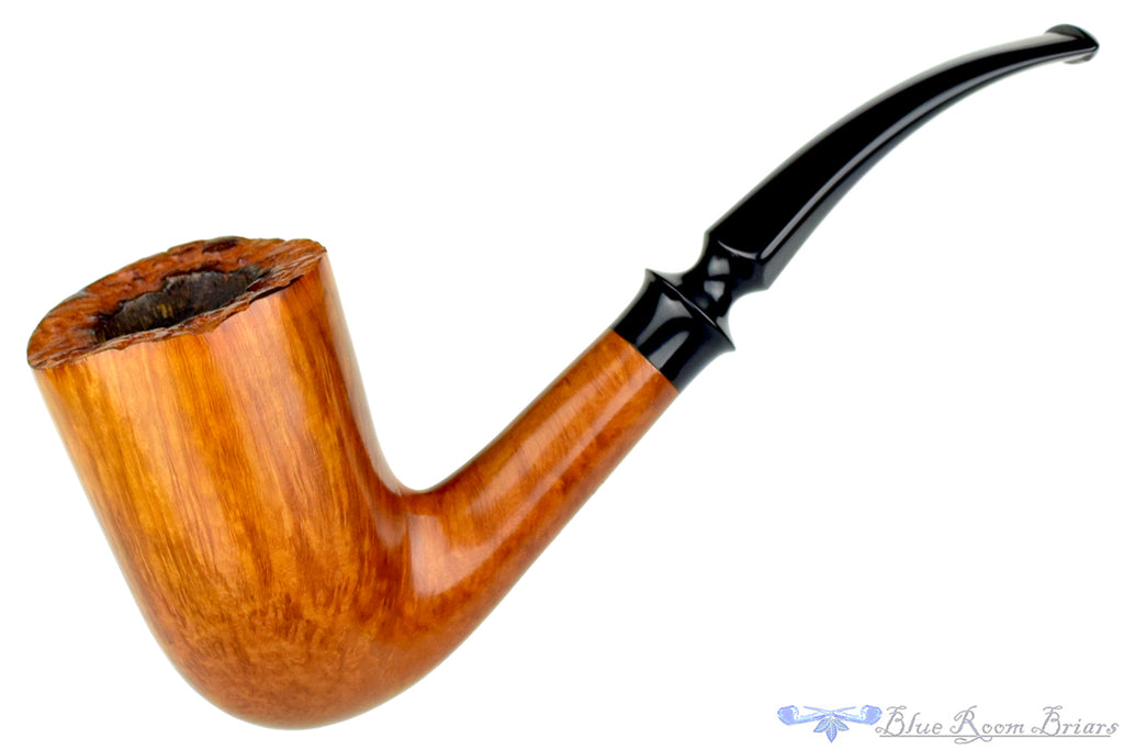 Blue Room Briars is proud to present this Celius Root Queen 1/4 Bent Smooth Freehand Estate Pipe