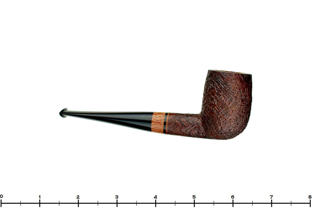 Jesse Jones Pipe Deshong Set 2 of 4 Sandblast Billiard with Macadamia Wood
