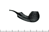 Blue Room Briars is proud to present this David S. Huber Pipe Black Blast Razor Egg