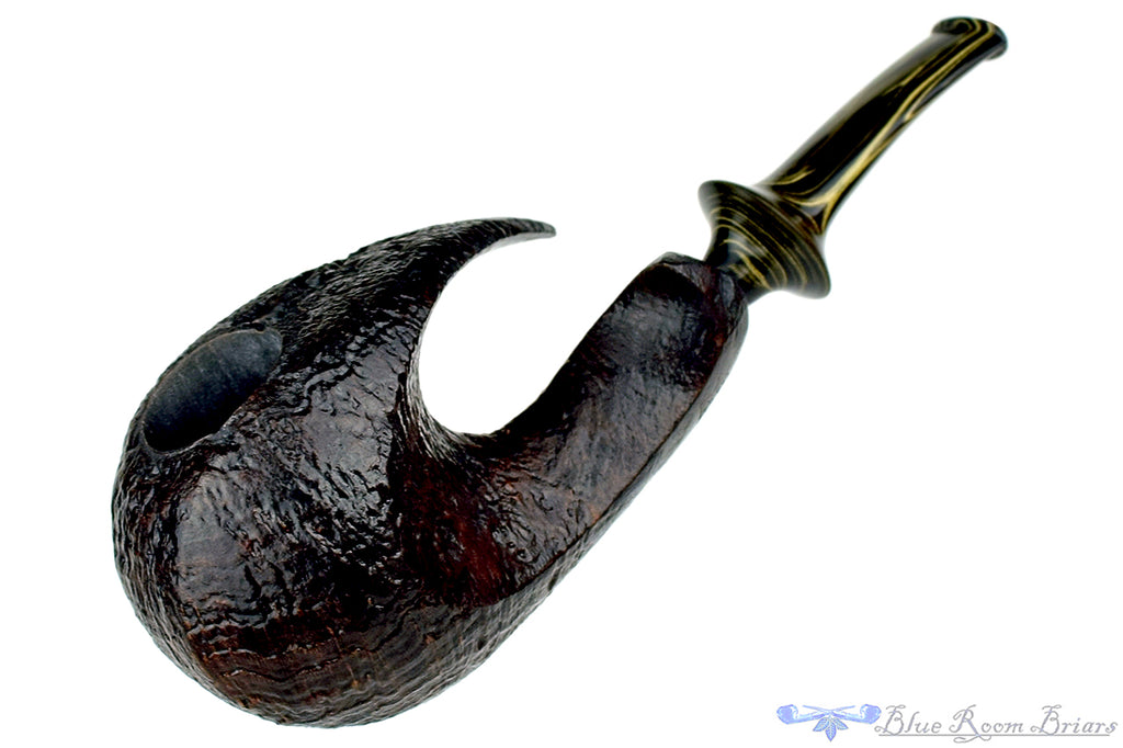Blue Room Briars is proud to present this Marinko Neralić Pipe Sandblast Freehand Wave