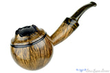 Blue Room Briars is proud to present this Marinko Neralić Pipe Smooth Globe with Plateau