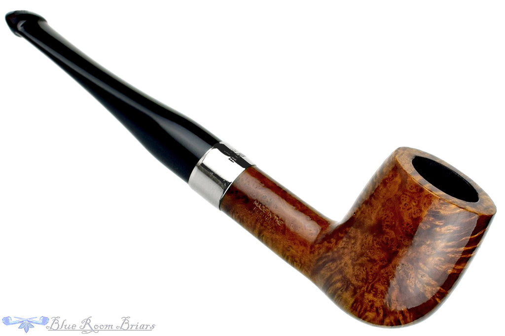 Blue Room Briars is Proud to Present this Peterson Aran 6 Billiard with Nickel Band and P-Lip Estate Pipe