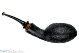 Blue Room Briars is proud to present this Thomas James Pipe Black Blast Squat Tomato with Teardrop Shank