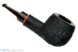 Blue Room Briars is proud to present this Jesse Jones Pipe Large Black Blast Pot with Bloodwood Ring and Brindle