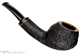 Blue Room Briars is proud to present this Jerry Crawford Pipe 1/4 Bent Black Blast Teapot with Oval Shank