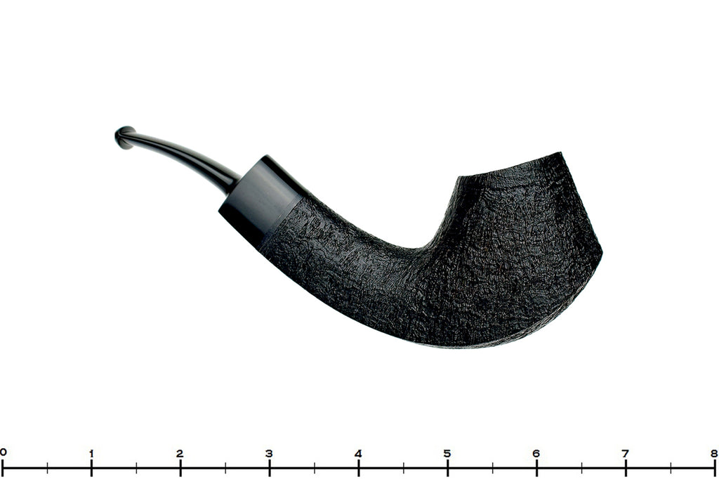 Blue Room Briars is proud to present this Bill Shalosky Pipe 386 Black Blast Bent Volcano