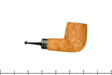 Blue Room Briars is proud to present this Bill Shalosky Pipe 377 Tan Blast Billiard with Fordite