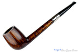 Blue Room Briars is proud to present this Michail Kyriazanos Pipe Canadian with Silver Band