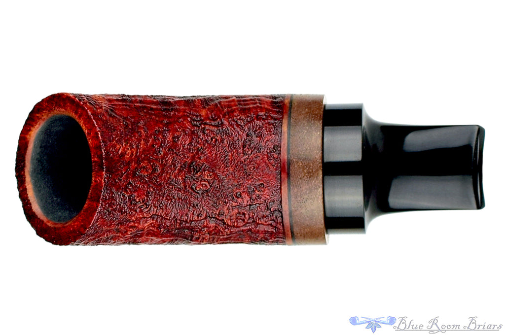 Blue Room Briars is proud to present this Dirk Heinemann Pipe Red Blast Tuban with Mahogany