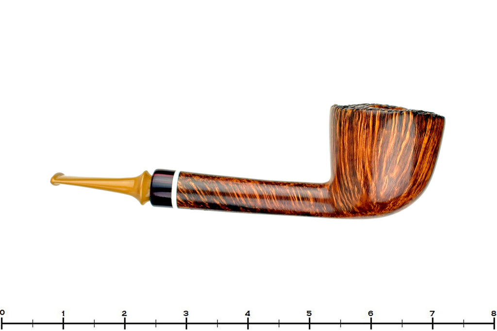 Blue Room Briars is proud to present this Tom Richard Pipe Long Shanked Dublin with Plateau
