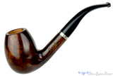 Blue Room Briars is proud to present this Genod Pipe Large Bent Egg with Nickel Band