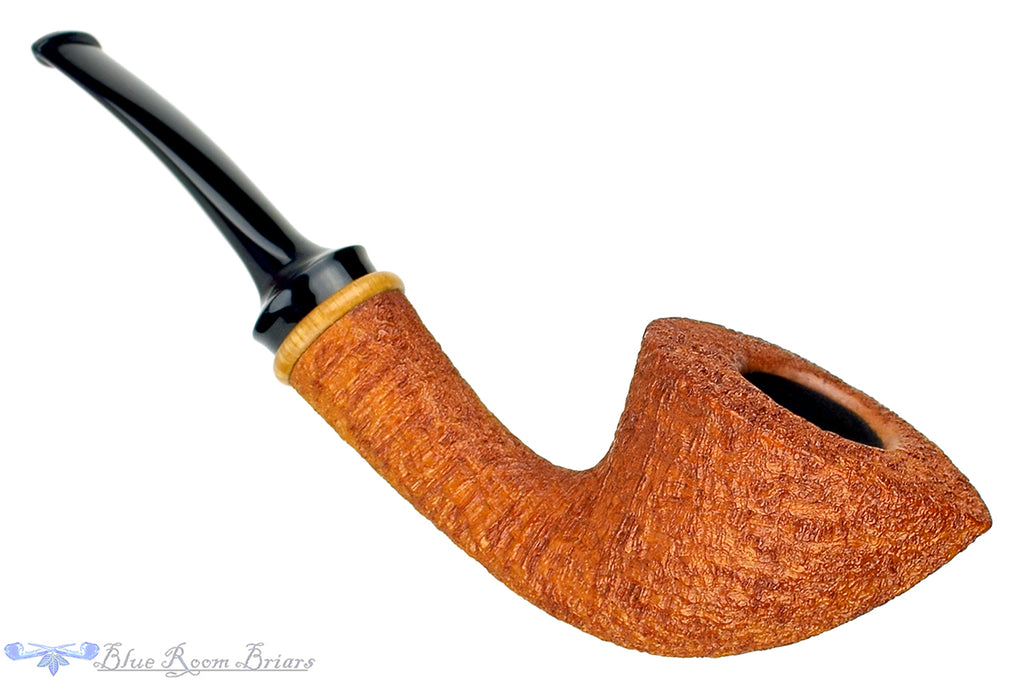 Blue Room Briars is proud to present this Jonas Rosengren Pipe Bent Tan Blast Dublin