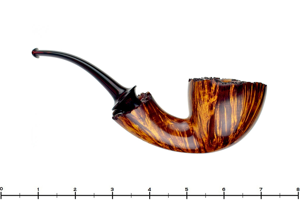 Blue Room Briars is proud to present this Jesse Jones Pipe Large 1/2 Bent Freehand with Plateau