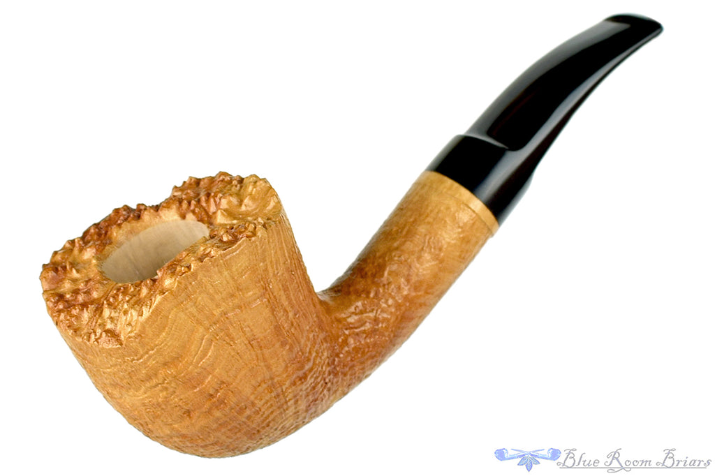 Blue Room Briars is proud to present this RC Sands 1/4 Bent Blonde Ring Blast Freehand with Plateau