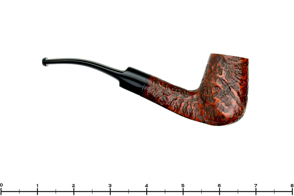 Blue Room Briars is proud to present this Real Briar Filter Bent Sandblast Chimney Estate Pipe