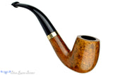 Blue Room Briars is proud to present this Peterson Supreme 69 1/2 Bent Billiard with Gold Band and P-Lip Estate Pipe