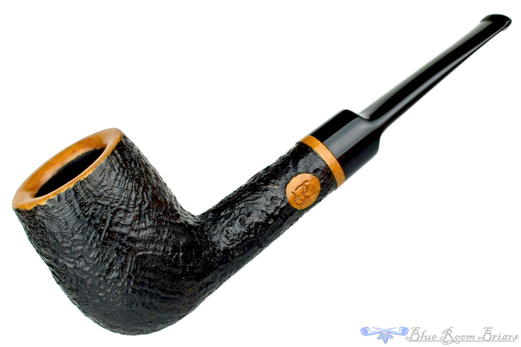 Blue Room Briars is proud to present this S&R Pipes PCI Convention 1988 Black Blast Billiard Estate Pipe