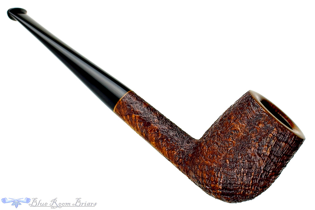 Blue Room Briars is proud to present this Jesse Jones Pipe Sandblast Billiard