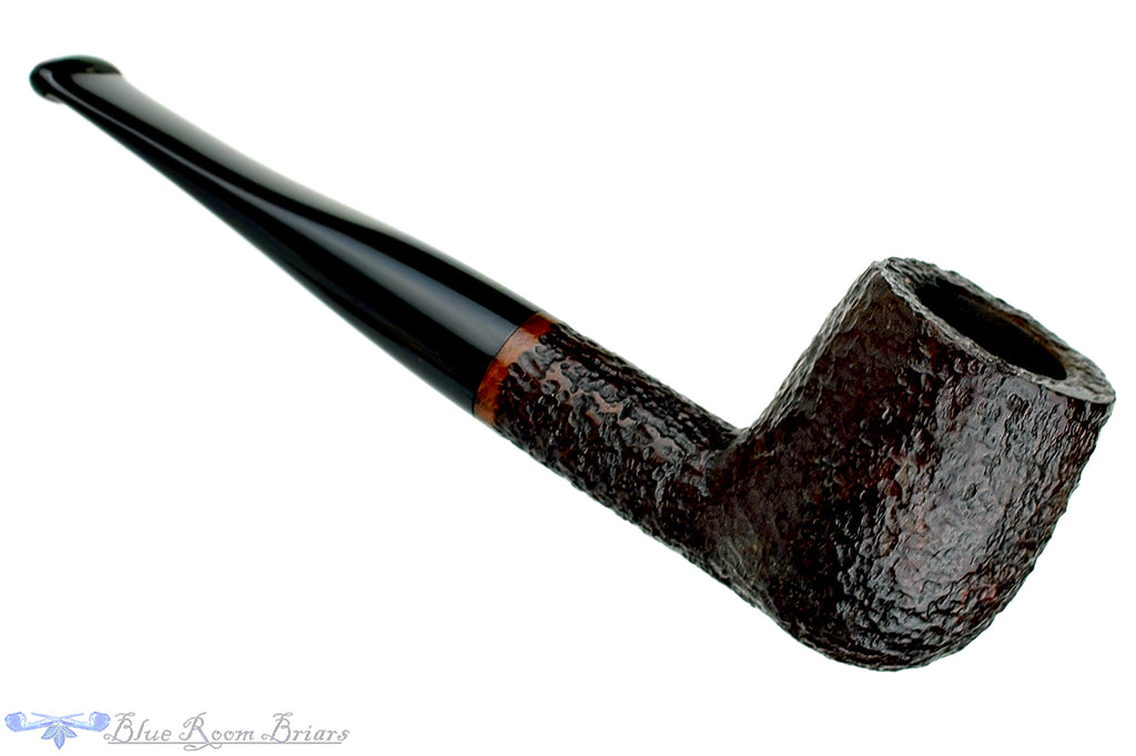 Blue Room Briars is proud to present this Savinelli One 106 Rusticated Billiard (6mm Filter) Estate Pipe