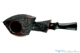 Blue Room Briars is proud to present this David S. Huber Pipe Ring Blast Partial Smooth Blowfish
