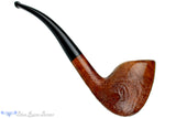 Blue Room Briars is proud to present this Danish 1/2 Bent Partial Sandblast Egg Estate Pipe