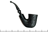 Blue Room Briars is proud to present this H.I.S Grande 3/4 Bent Sandblasted Calabash Estate Pipe
