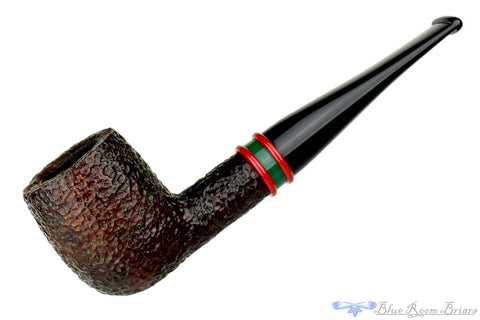 Savinelli Linea Artisan Long Shank Bent Billiard with 6mm Filter Estate Pipe