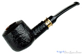 Blue Room Briars is proud to present this Erik Stokkebye 4th Generation 1957 Black Blast Pot Sitter with Brass Band Estate Pipe