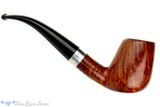 Blue Room Briars is proud to present this Karl Erik Handmade 1/4 Bent Egg (6mm filter) with Nickel Band Estate Pipe