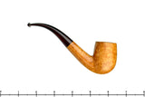 Blue Room Briars is proud to present this Jesse Jones Pipe 1/2 Bent Smooth Natural Billiard with Brindle