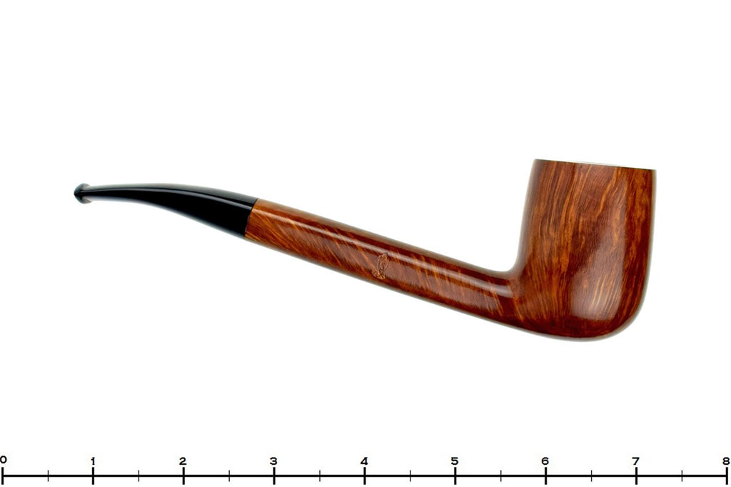 Blue Room Briars is proud to present this Savinelli Linea Artisan Long Shank Bent Billiard with 6mm Filter Estate Pipe