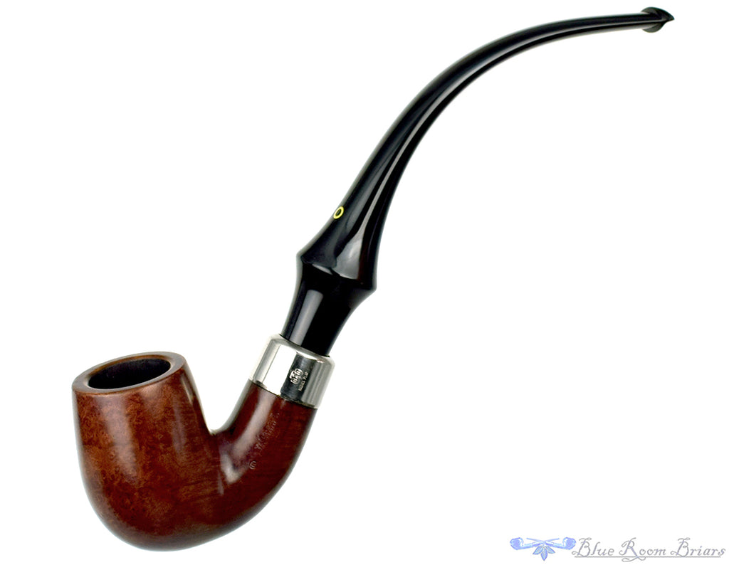 Blue Room Briars is proud to present this KB&B Yello-Bole Imperial 3068C 3/4 Bent Billiard with Nickel Estate Pipe