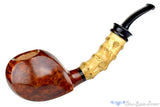 Blue Room Briars is proud to present this Sergey Cherepanov Pipe Bent Bamboo Blowfish