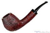 Blue Room Briars is proud to present this Jerry Crawford Pipe Sandblast Bent Danish Brandy