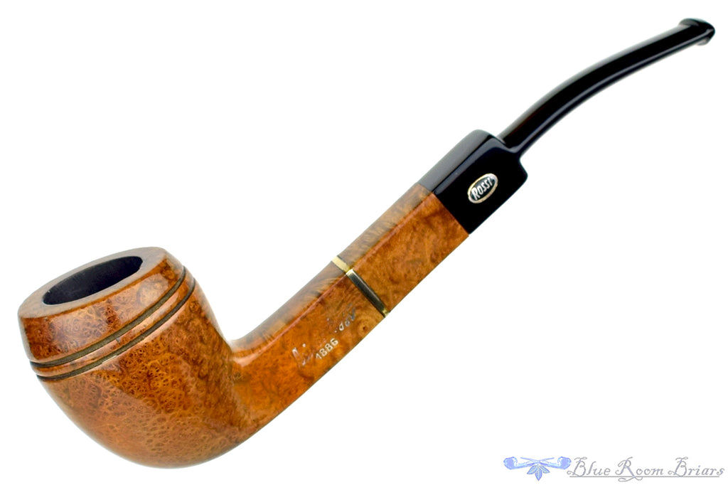 Blue Room Briars is proud to present this Nino Rossi 1886 Originale 246 1/4 Bent Pear Sitter Estate Pipe