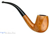 Blue Room Briars is proud to present this M.T. Natural 1/2 Bent Large Billiard with Replacement Stem Estate Pipe