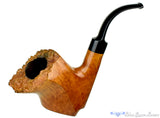 Blue Room Briars is proud to present this Wenhall Dane Craft Smooth Sitter Freehand with Plateau Estate Pipe