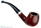 Blue Room Briars is proud to present this James Upshall Tilshead 1/4 Bent Apple with Silver Estate Pipe
