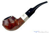 Blue Room Briars is proud to present this Comoy's Hallmark 409 (1990 Make) 1/4 Bent Bulldog with Silver Estate Pipe